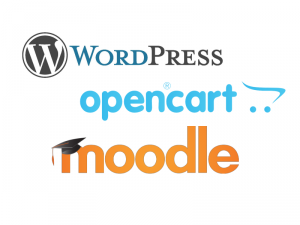 moodle-wordpress-opencart